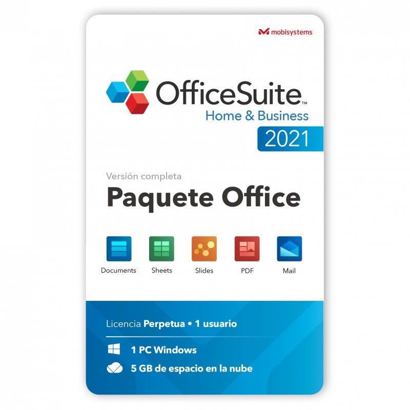 OfficeSuite Home & Business 2021 Licencia Perpetua 1 Usuario