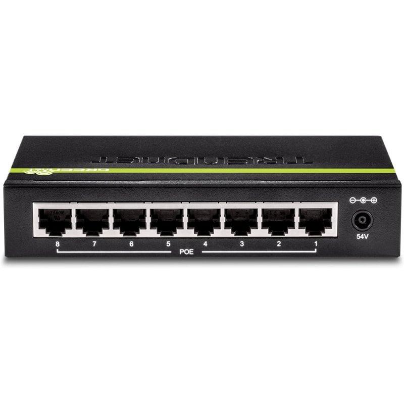 TRENDnet TPE-TG82g Switch 8 Puertos Gigabit PoE