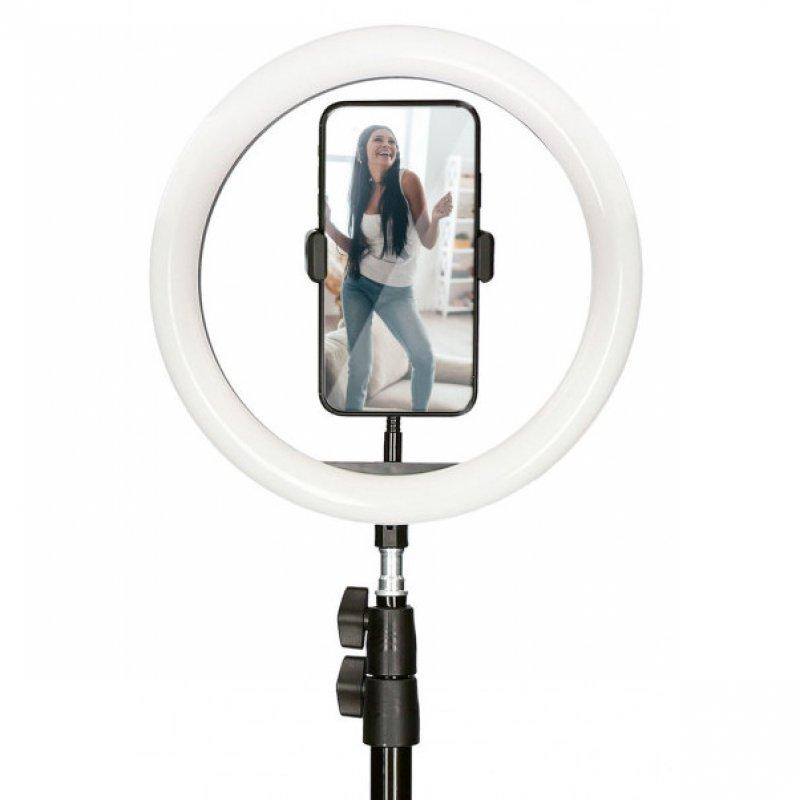 Mobile Tech Kit Studio Live Max Aro de Luz con Trípode Suelo 1.6m para Smartphone