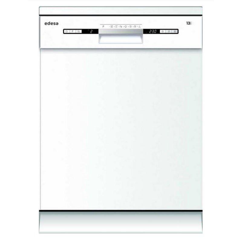 Edesa EDW-6230 WH Lavavajillas Capacidad 13 Cubiertos E Blanco