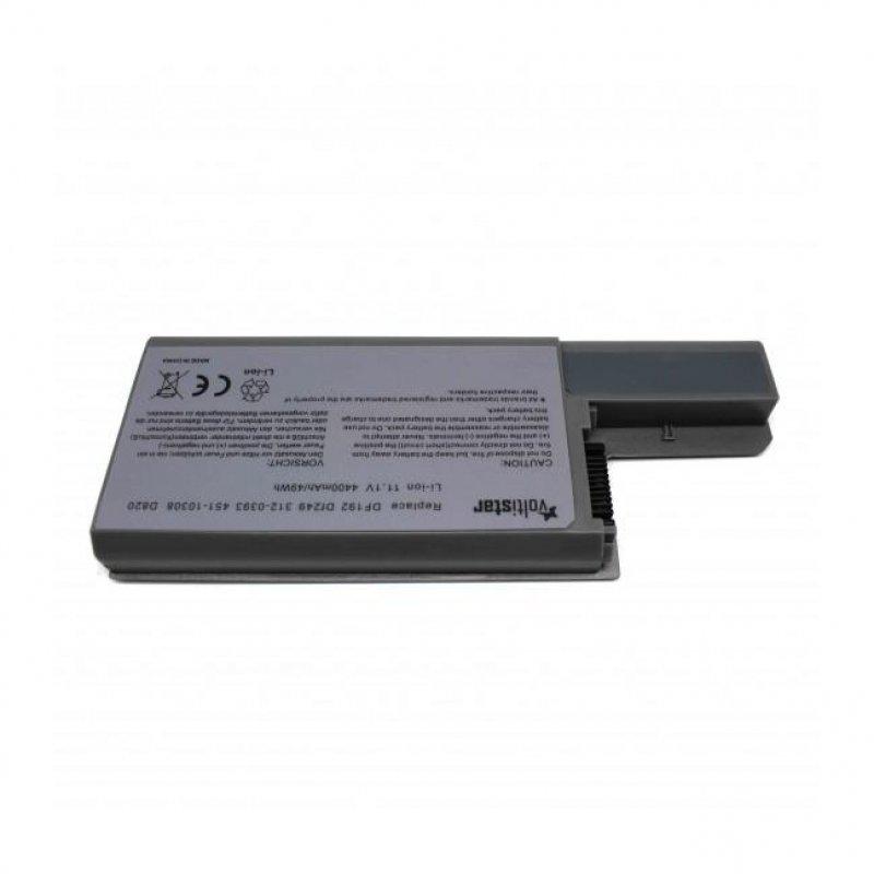 Voltistar Batería para Portátil Dell Latitude D820 D531 D531N