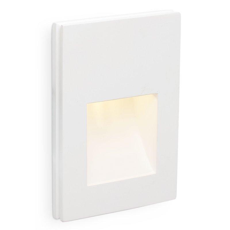 Faro Plas-3 Foco Empotrable De Pared LED 1W Blanco