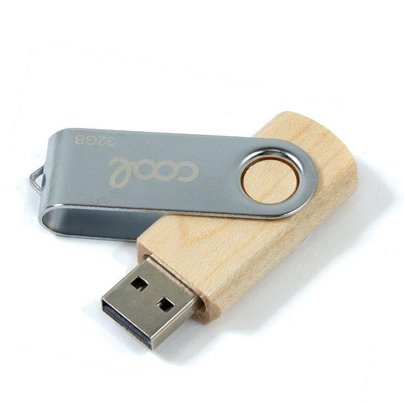 Cool Pen Drive USB X32 GB 2.0 Madera