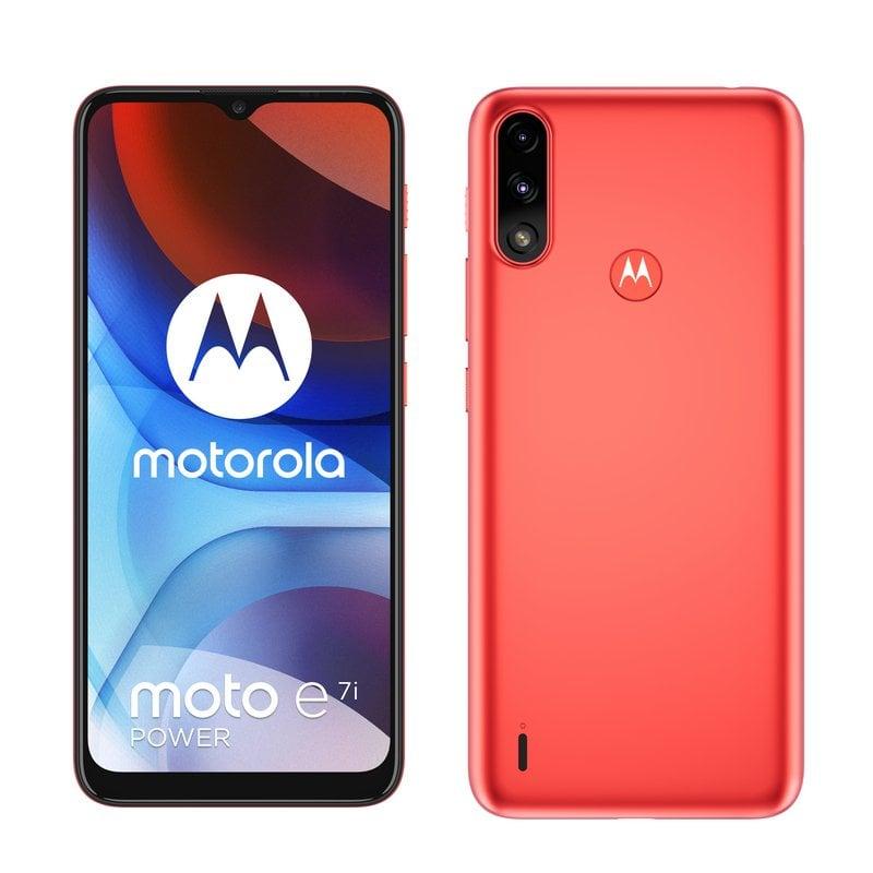 Motorola Moto E7i Power 2/32GB Rojo Libre