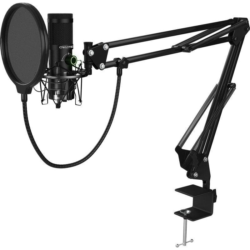Owlotech X2 Streaming Micrófono Condensador + Accesorios