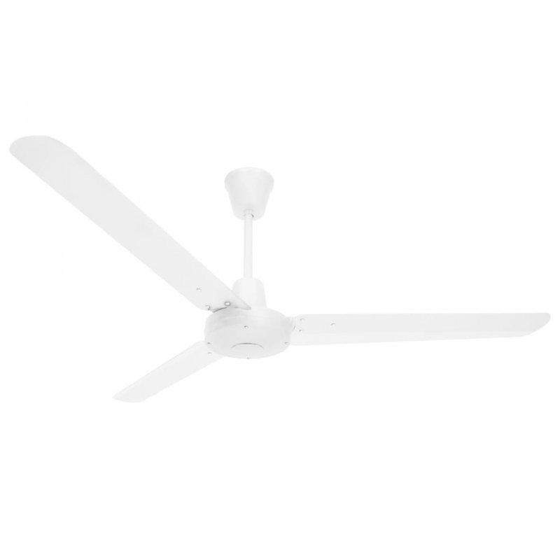 VidaXL Ventilador de Techo 65W Blanco