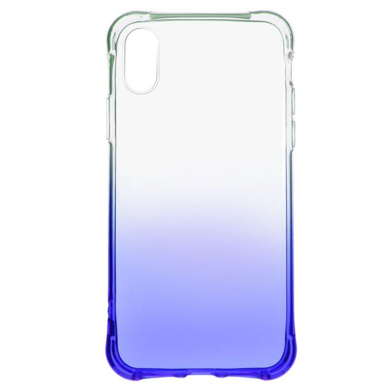 Funda Degradada Azul Para IPhone XR