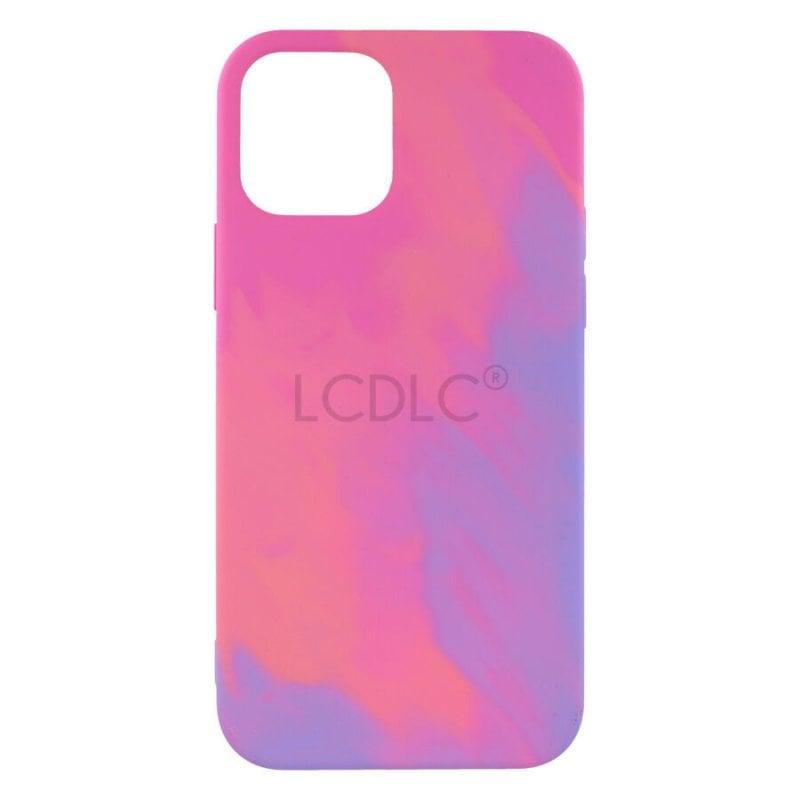 Funda Ultra Suave Diseño Tie Dye Para IPhone 12