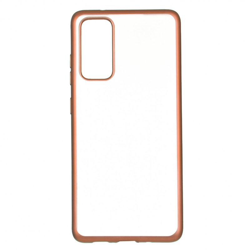 Funda Bumper Premium Oro Rosa Para Samsung Galaxy S20 FE