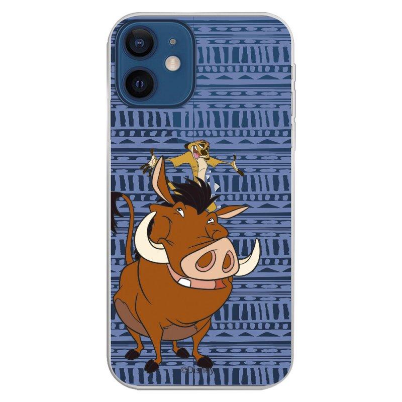 Funda Oficial de Disney Timón y Pumba Silueta El Rey León para iPhone 12