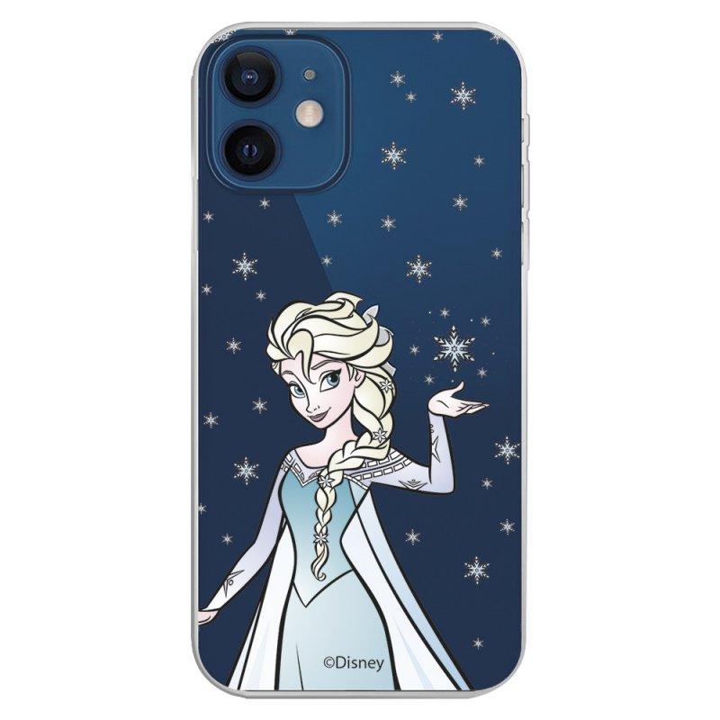 Funda Oficial de Disney Elsa Transparente Frozen para iPhone 12