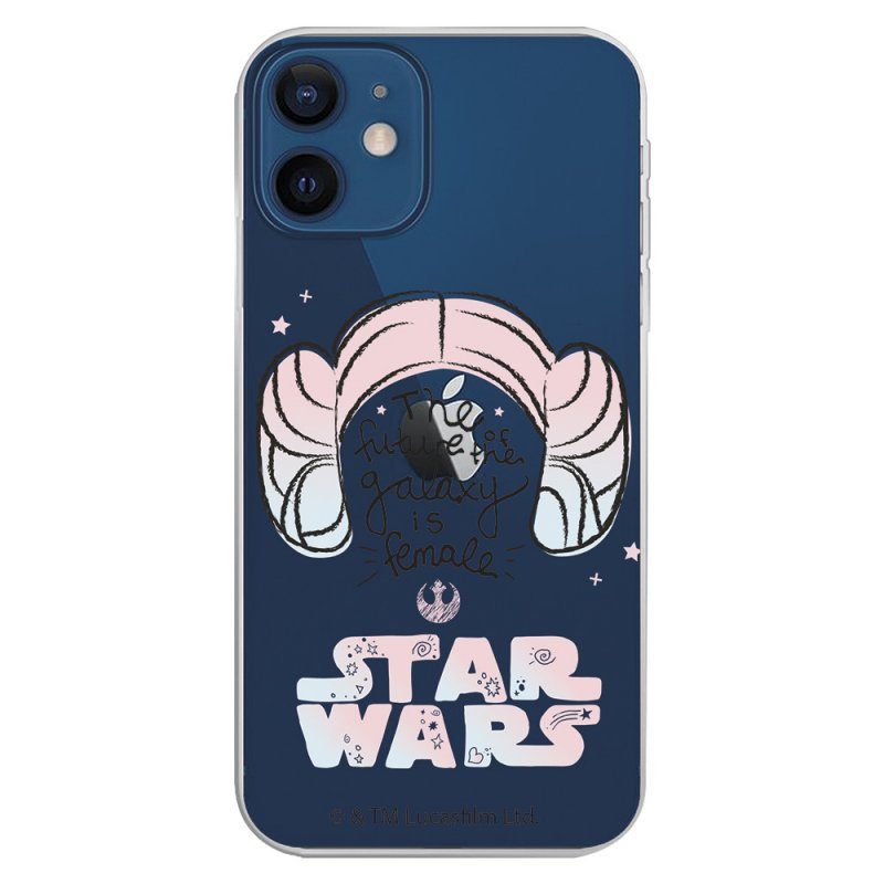 Funda Oficial de Star Wars The Future Of The Galaxy Transparente para iPhone 12