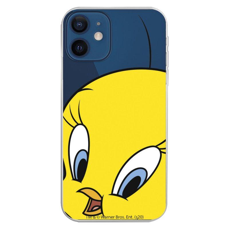 Funda Oficial Looney Tunes de Warner Bros Piolín Silueta Transparente para iPhone 12
