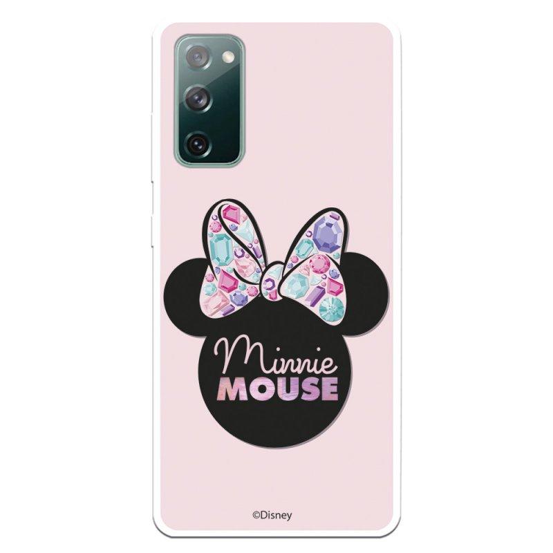 Funda Oficial Clásicos De Disney Minnie Pink Shadow Para Samsung Galaxy S20 FE