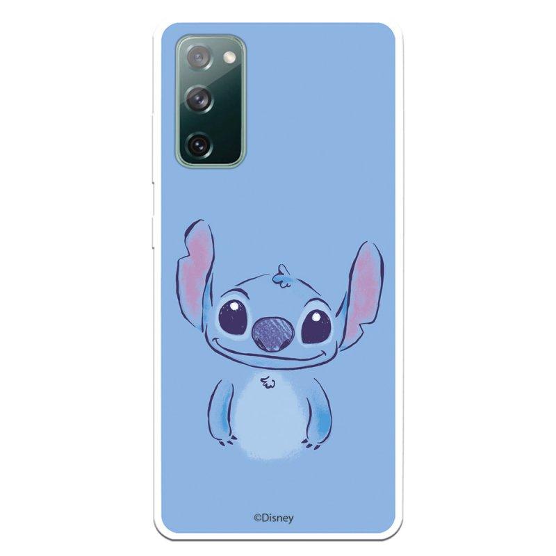 Funda Oficial Lilo & Stitch de Disney Stitch Azul para Samsung Galaxy S20 FE