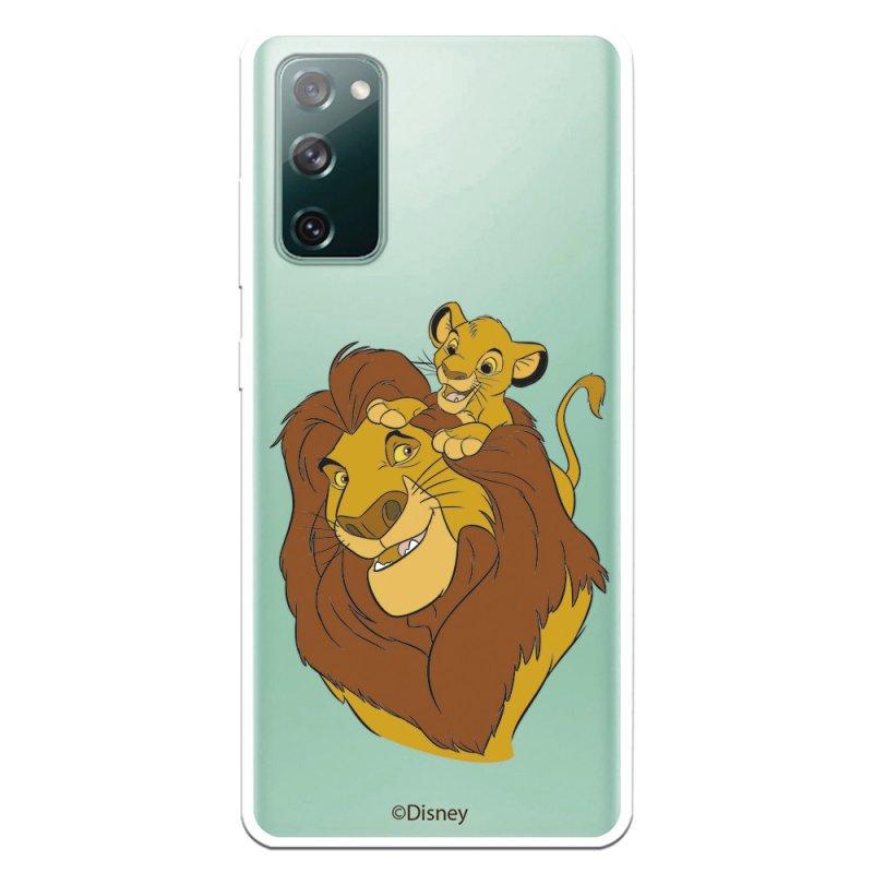Funda Oficial De Disney El Rey León Mufasa Y Simba Silueta Para Samsung Galaxy S20 FE