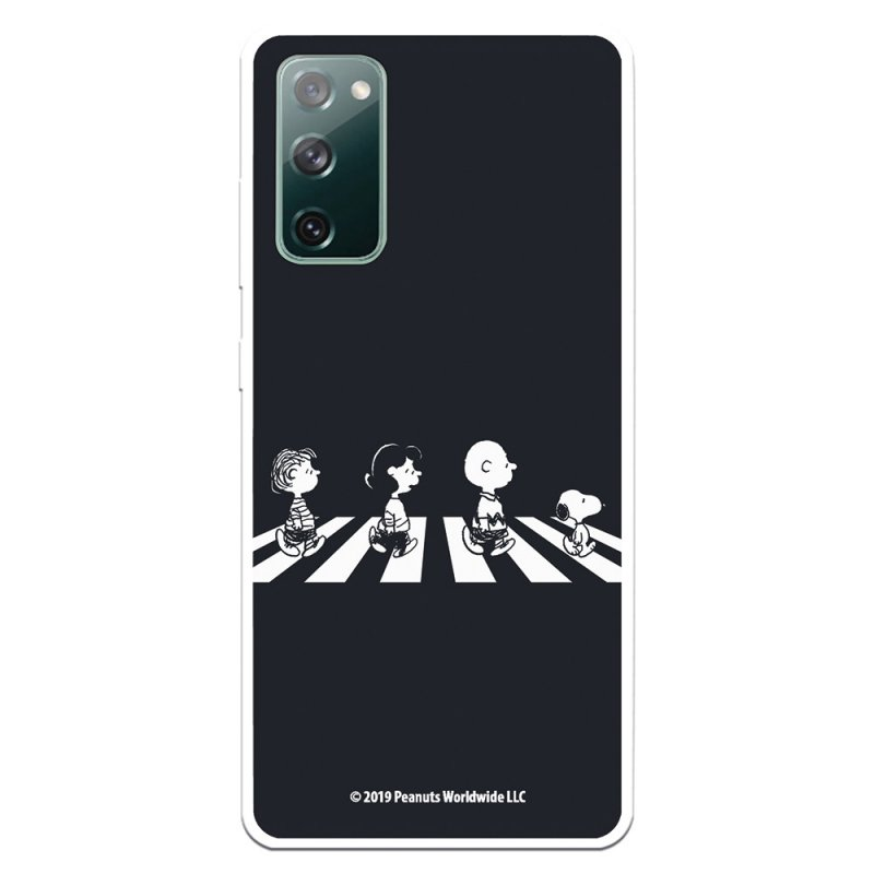 Funda Oficial De Snoopy Peanuts Personajes Beatles Para Samsung Galaxy S20 FE