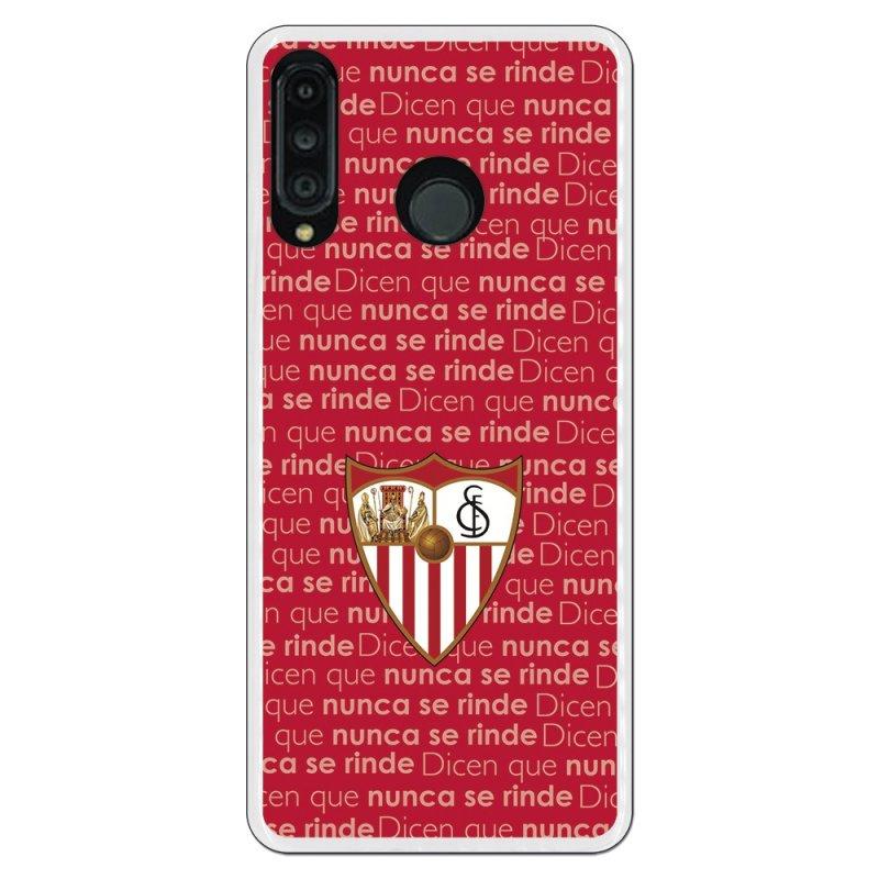Funda Oficial Sevilla Fondo Nunca se Rinde para Huawei P30 Lite
