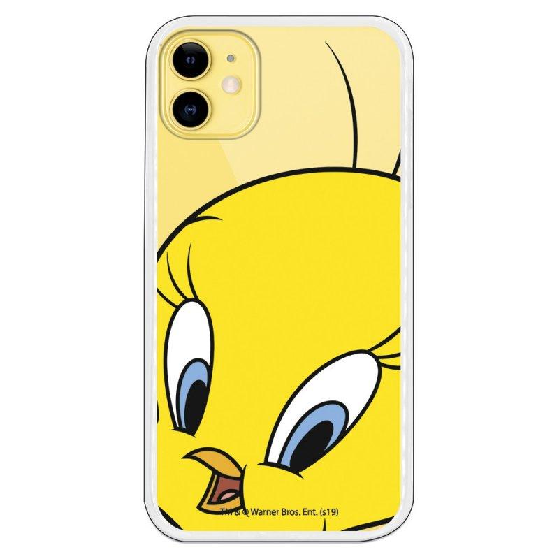 Funda Oficial de Warner Bros Looney Tunes Piolín Silueta Transparente para iPhone 11