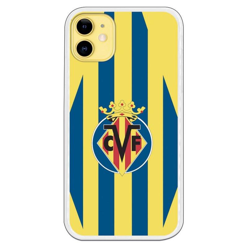 Funda Del Villarreal Escudo Fondo Amarillo Para IPhone 11