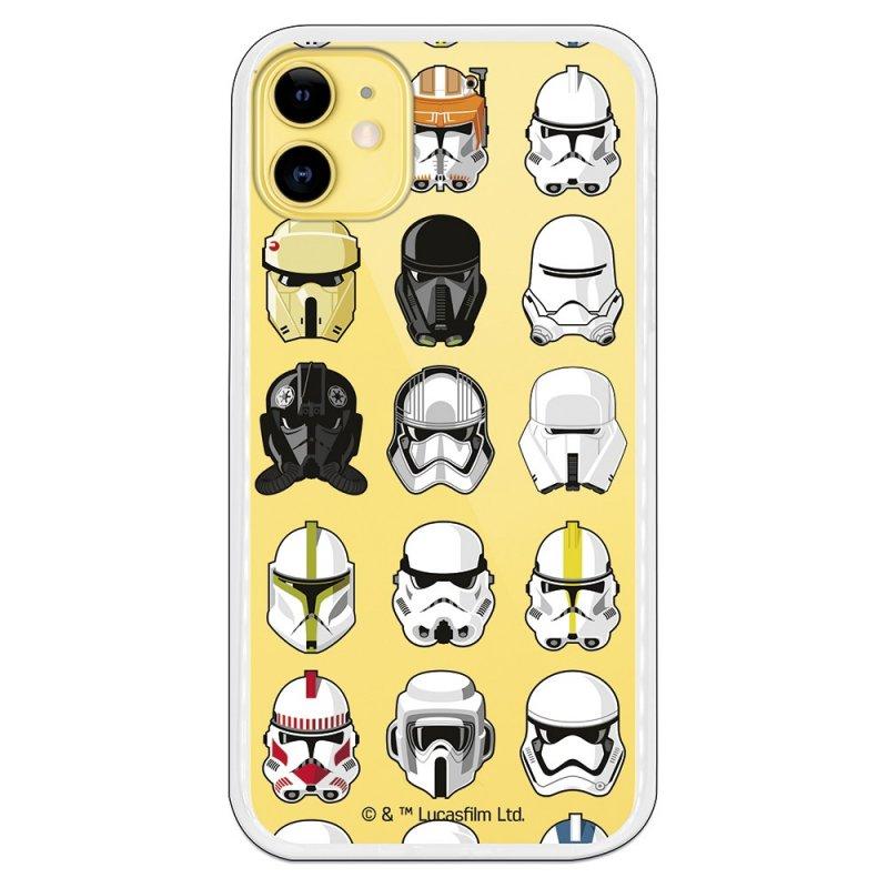 Funda Oficial de Star Wars Patrón Cascos para iPhone 11