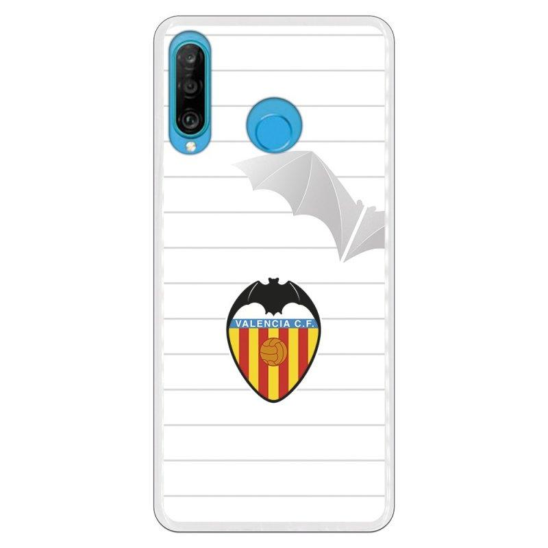 Funda Licencia Oficial Valencia CF Escudo Y Murcielago Para Huawei P30 Lite