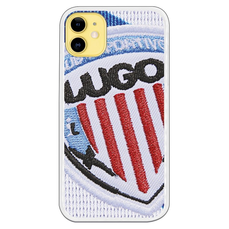 Funda Licencia Oficial C.D Lugo Bordado Para IPhone 11