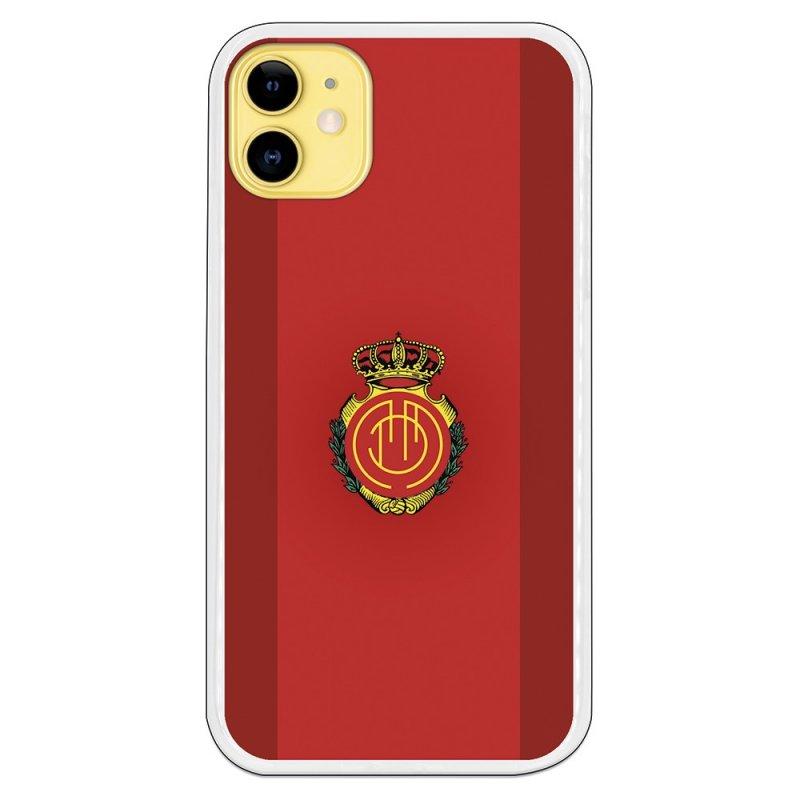 Funda Licencia Oficial RCD Mallorca Fondo Rojo para iPhone 11