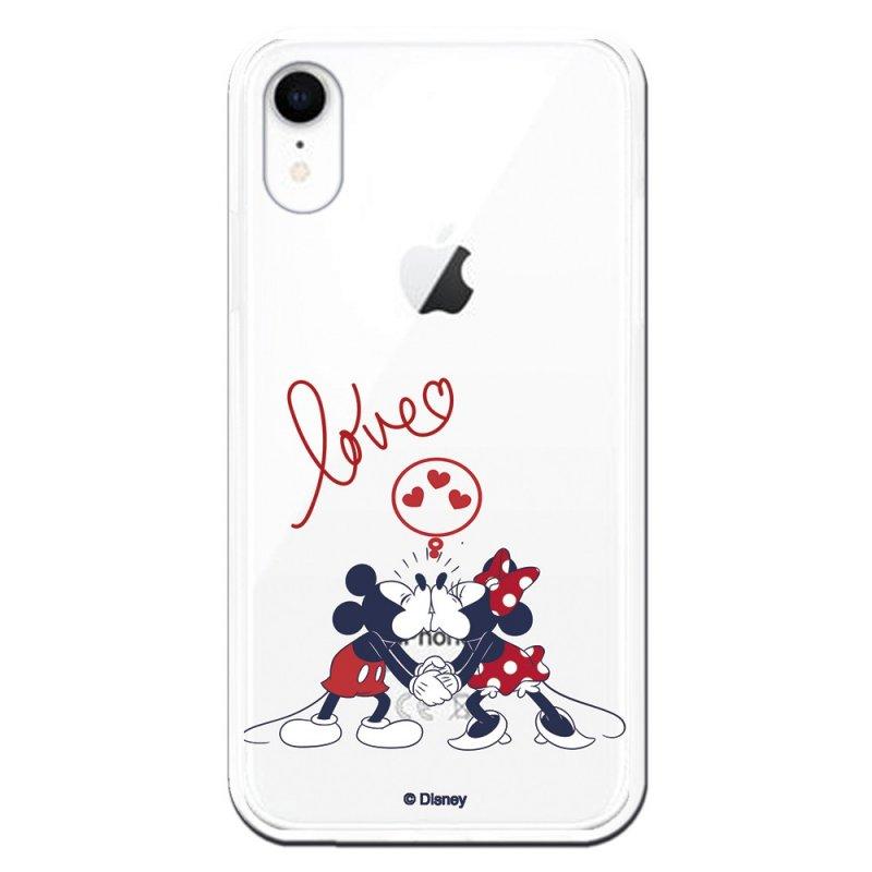 Funda Oficial Clásicos De Disney Mickey Y Minnie Love Para IPhone XR