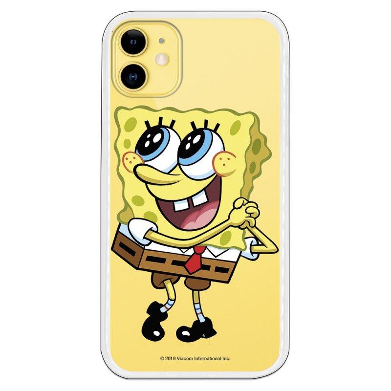 Funda Oficial de Nickelodeon Bob Ojitos Bob Esponja para iPhone 11
