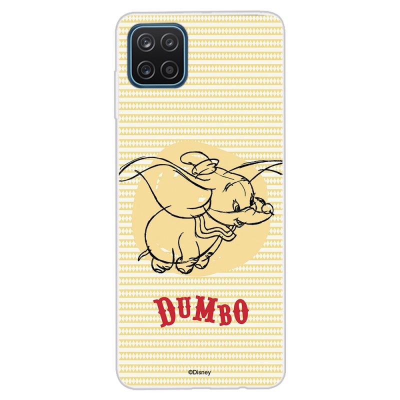 Funda Oficial De Disney Dumbo Fondo Amarillo Para Samsung Galaxy A12