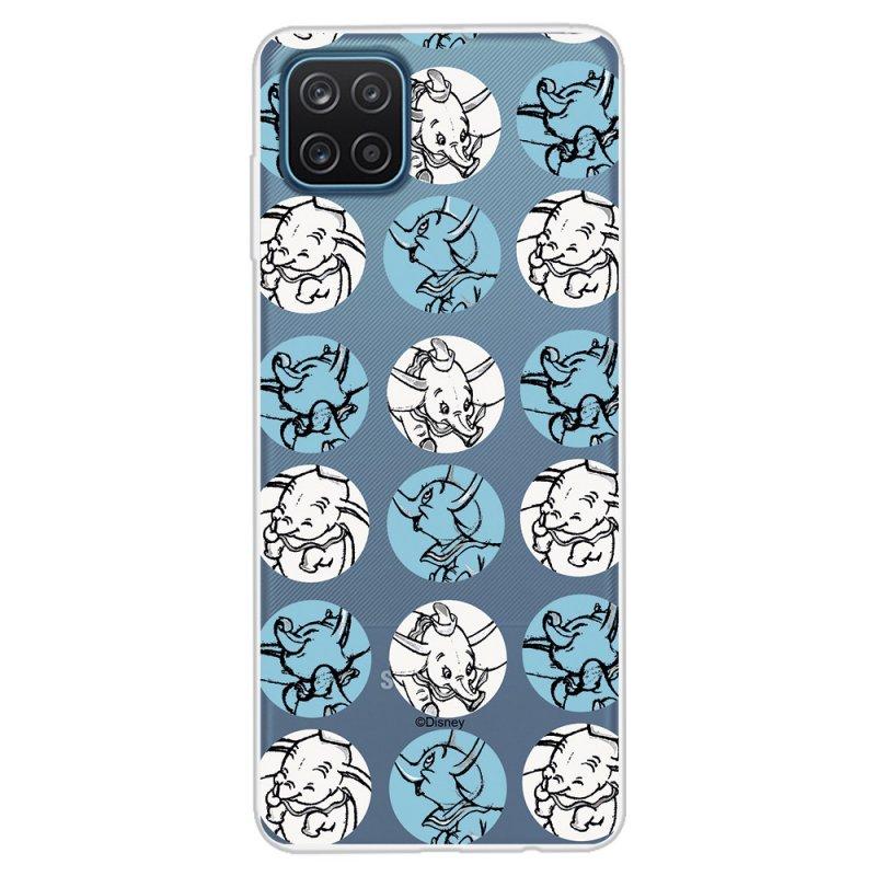 Funda Oficial De Disney Dumbo Patrón Circulos Para Samsung Galaxy A12