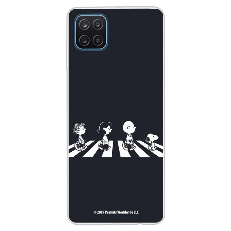Funda Oficial de Snoopy Peanuts Personajes Beatles para Samsung Galaxy A12