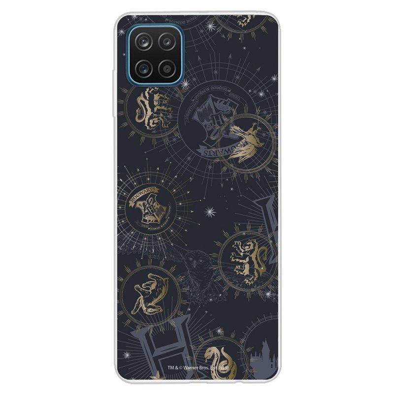Funda Oficial De Harry Potter Insignias Constelaciones Para Samsung Galaxy A12