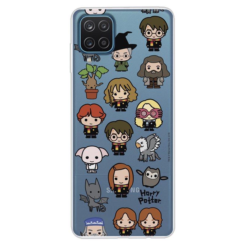 Funda Oficial de Harry Potter Personajes Iconos para Samsung Galaxy A12