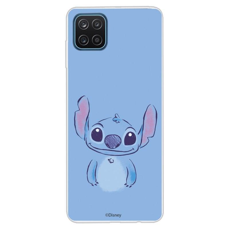 Funda Oficial de Disney Stitch Azul Lilo & Stitch para Samsung Galaxy A12