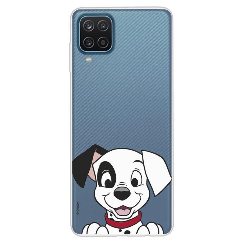 Funda Oficial de Disney Cachorro Sonrisa 101 Dálmatas para Samsung Galaxy A12