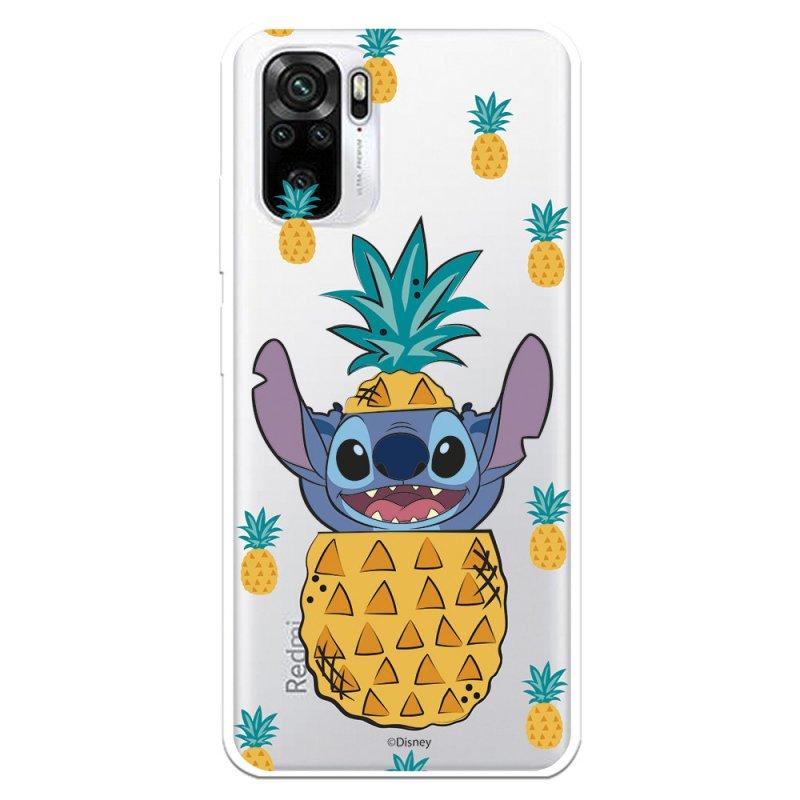 Funda Oficial De Lilo & Stitch Disney Stitch Piñas Para Xiaomi Redmi Note 10