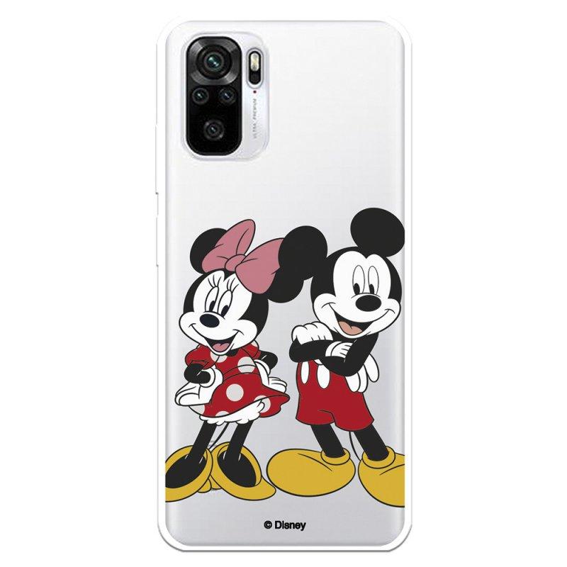 Funda Oficial De Disney Mickey Y Minnie Posando Clásicos Disney Para Xiaomi Redmi Note 10