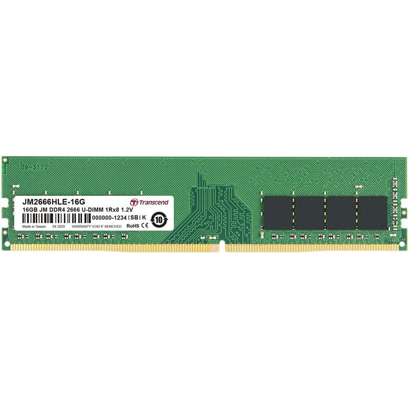 Transcend JetRam DDR4 2666MHz 16GB CL19