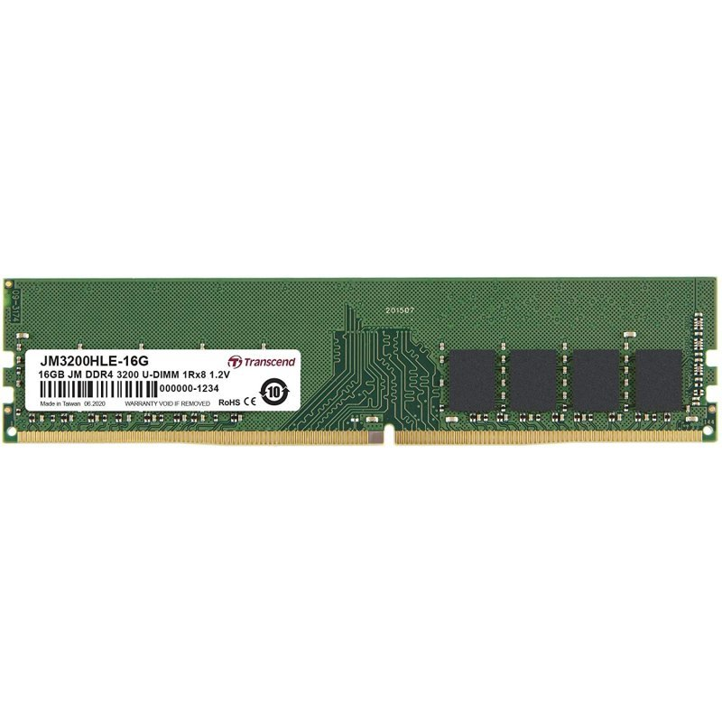 Transcend JetRam DDR4 3200MHz 16GB CL22