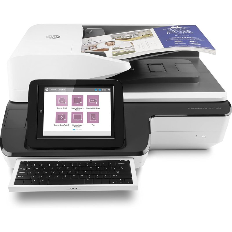 HP ScanJet Enterprise Flow N9120 Fn2 Escáner De Documentos