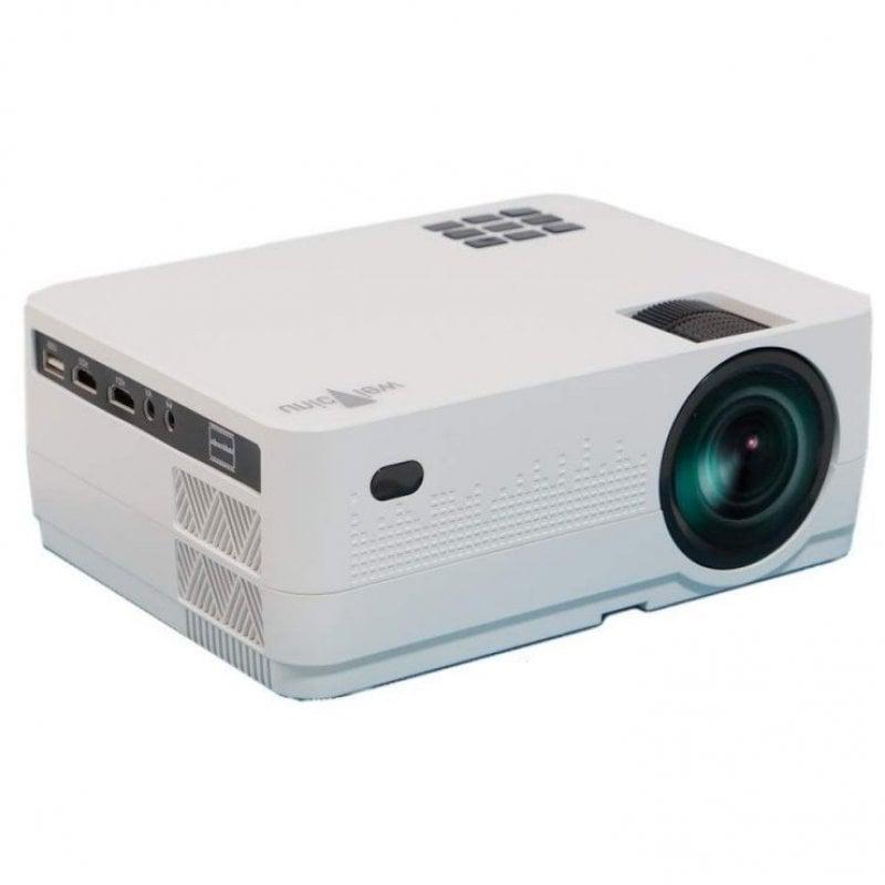 Unicview HD450 Proyector Portátil ANSI HD WiFi 4800 Lúmenes Blanco