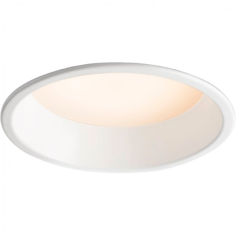 Faro Son Foco Empotrable De Techo LED 24W Blanco