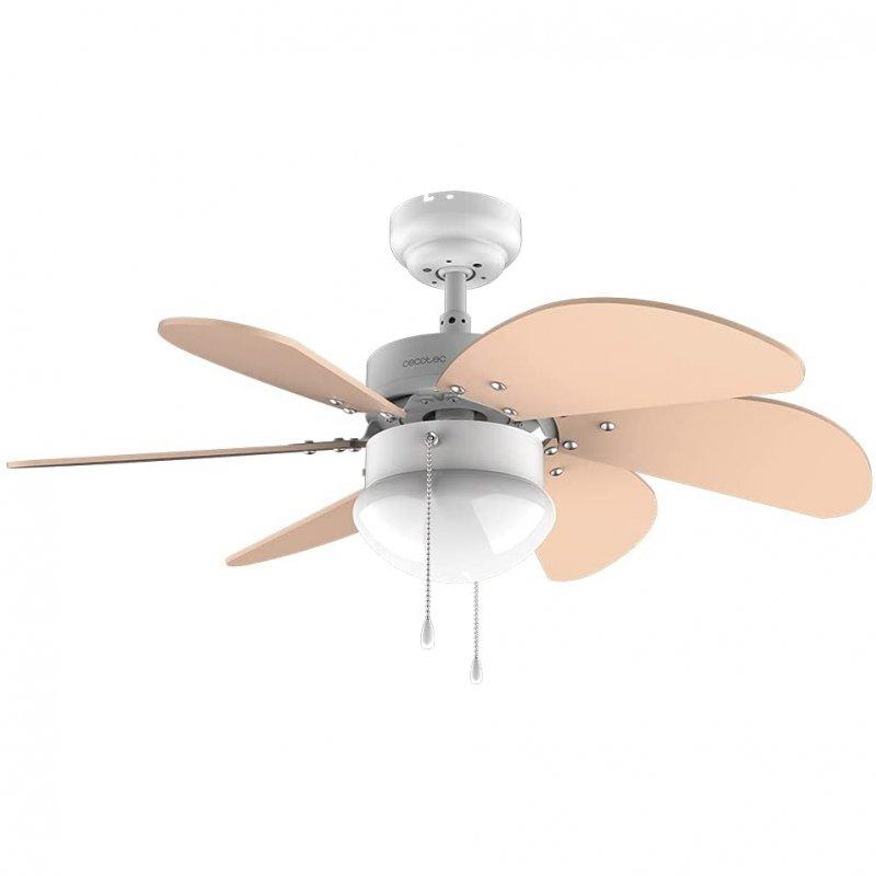Cecotec EnergySilence Aero 3600 Vision Orange Ventilador De Techo Con Luz 50W