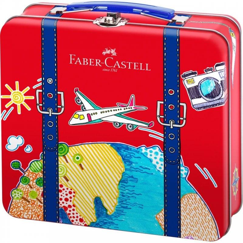 Faber Castell Connector Maletín 40 Rotuladores De Colores + 6 Clips Conectores + 1 Pasaporte