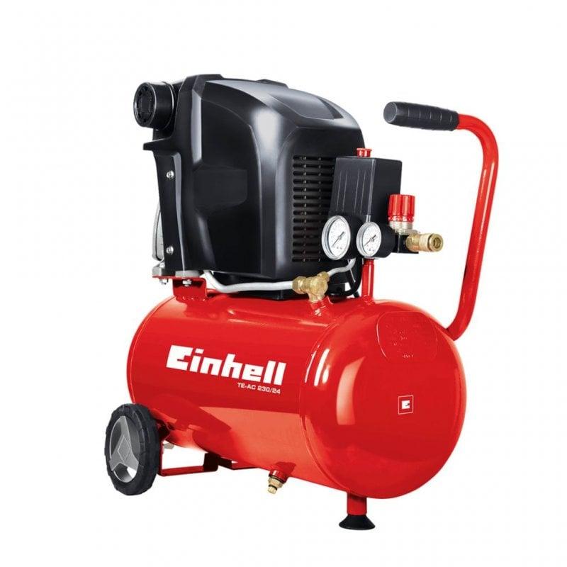 Einhell TE-AC 230/24 Compresor Horizontal 24L 1500W