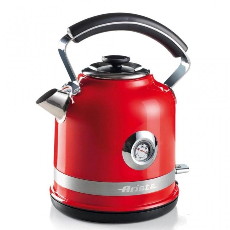 Ariete Moderna Hervidor De Agua 1.7L 2000W Rojo