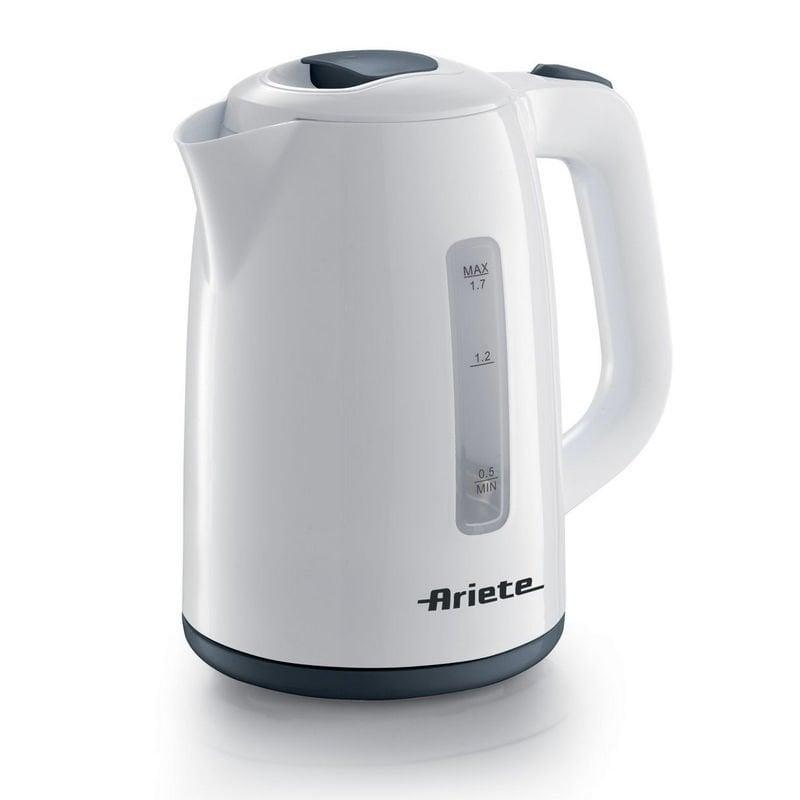 Ariete Cordless Hervidor Eléctrico 1.7L  2200W Blanco/Gris