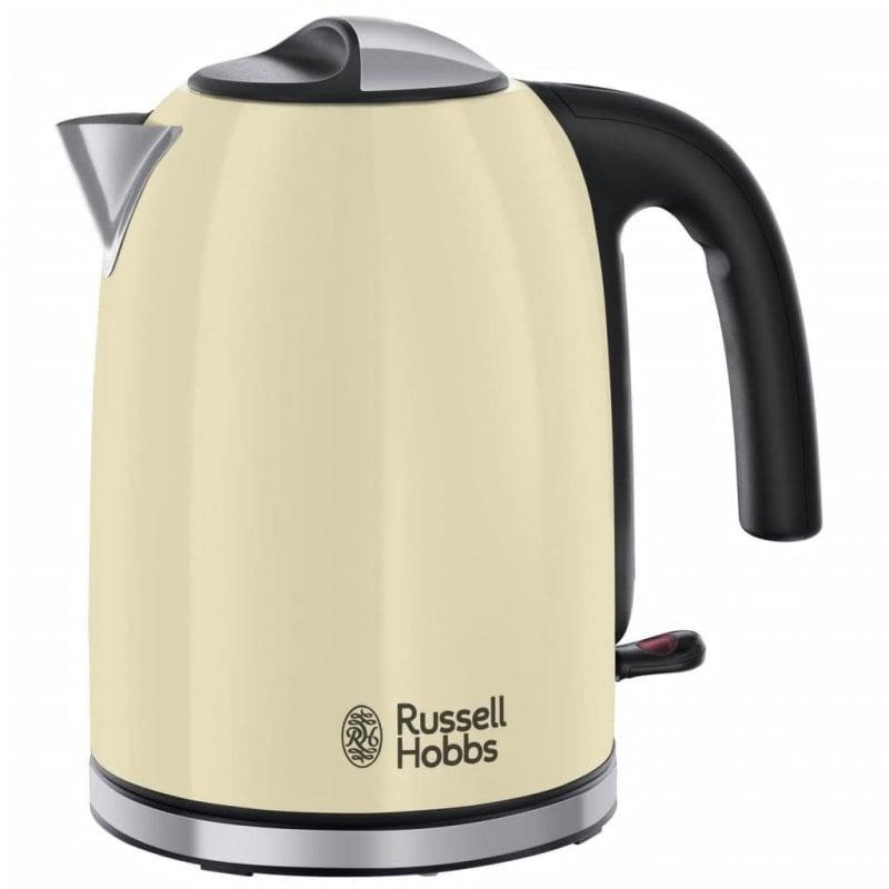 Russell Hobbs Hervidor De Agua Colours Plus Clásico 1.7L Crema 2400W